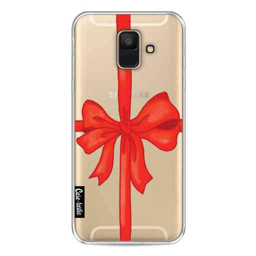 Casetastic Softcover Samsung Galaxy A6 (2018) - Christmas Ribbon