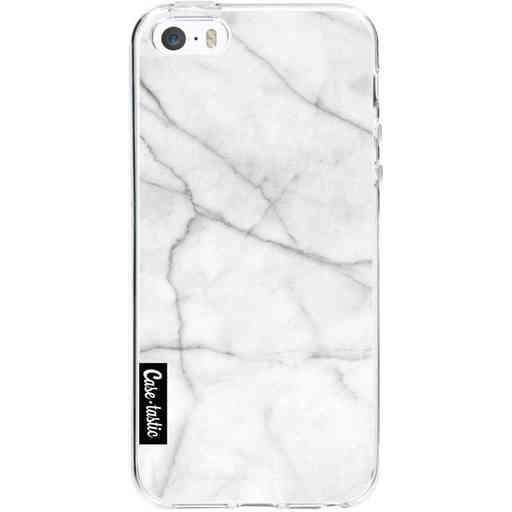Casetastic Softcover Apple iPhone 5 / 5s / SE - White Marble