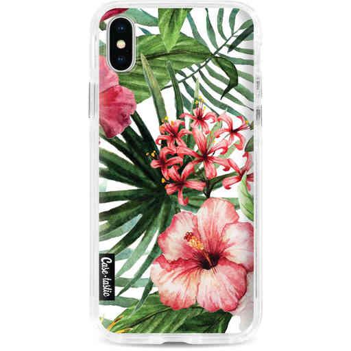 Casetastic Dual Snap Case Apple iPhone X / XS - Tropical Flowers