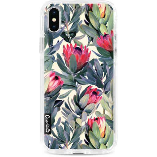 Casetastic Dual Snap Case Apple iPhone X / XS - Painted Protea