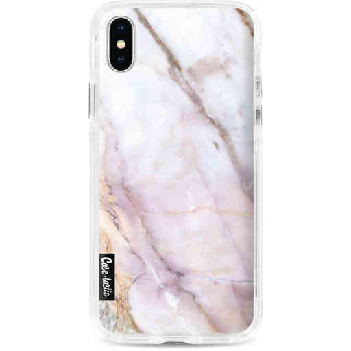 Casetastic Dual Snap Case Apple iPhone X / XS - Pink Marble