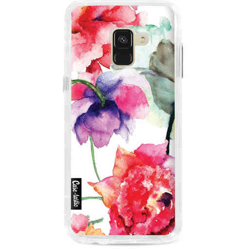 Casetastic Dual Snap Case Samsung Galaxy A8 (2018) - Watercolor Flowers