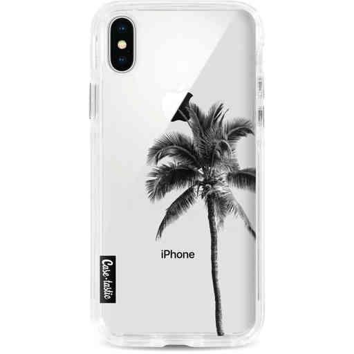 Casetastic Dual Snap Case Apple iPhone X / XS - Palm Tree Transparent