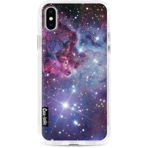 Casetastic Dual Snap Case Apple iPhone X / XS - Nebula Galaxy