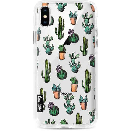 Casetastic Dual Snap Case Apple iPhone X / XS - Cactus Dream