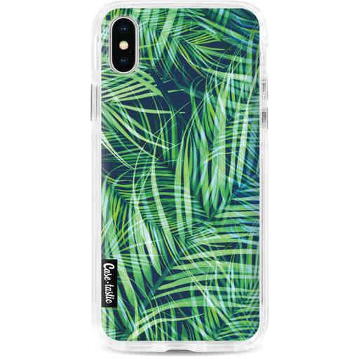 Casetastic Dual Snap Case Apple iPhone X / XS - Palm Leaves