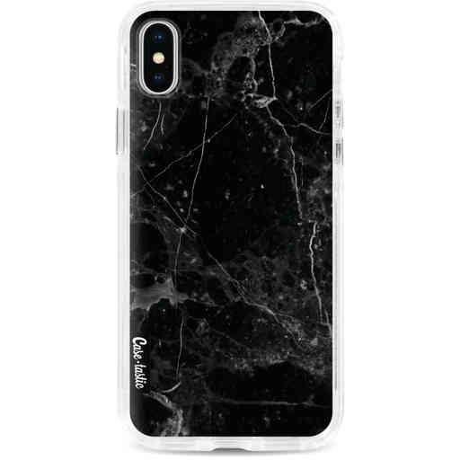 Casetastic Dual Snap Case Apple iPhone X / XS - Black Marble