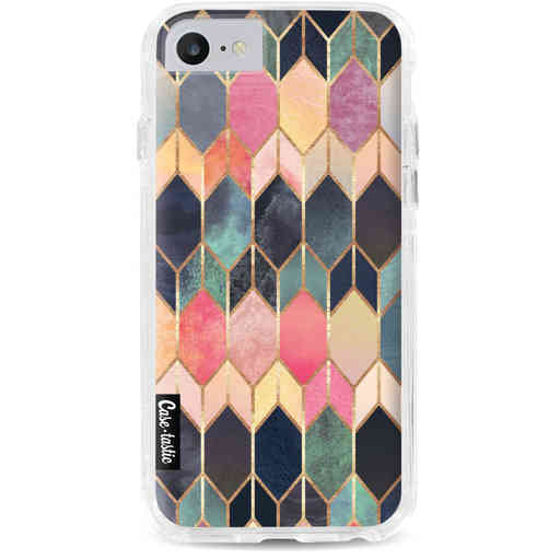 Casetastic Dual Snap Case Apple iPhone 7 / 8 - Stained Glass Multi