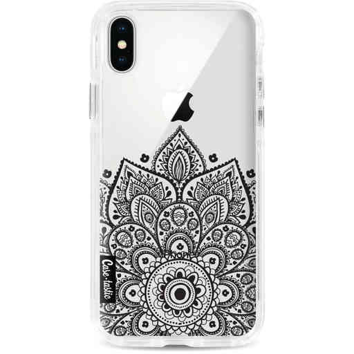 Casetastic Dual Snap Case Apple iPhone X / XS - Floral Mandala