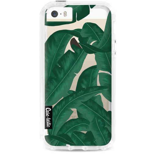 Casetastic Dual Snap Case Apple iPhone 5 / 5s / SE - Banana Leaves