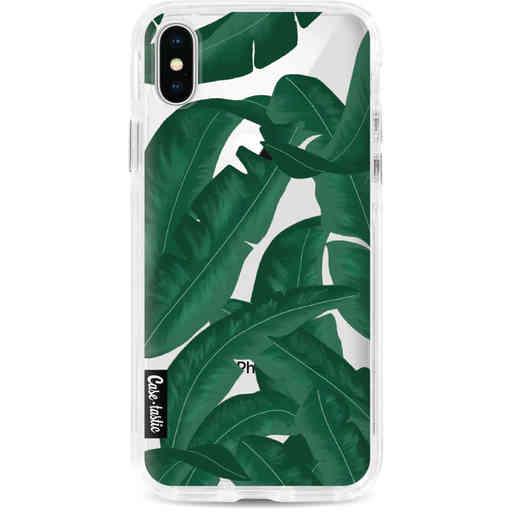 Casetastic Dual Snap Case Apple iPhone X / XS - Banana Leaves
