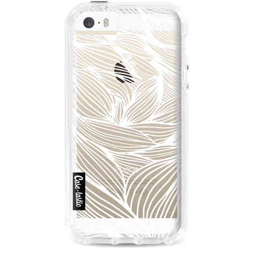 Casetastic Dual Snap Case Apple iPhone 5 / 5s / SE - Wavy Outlines