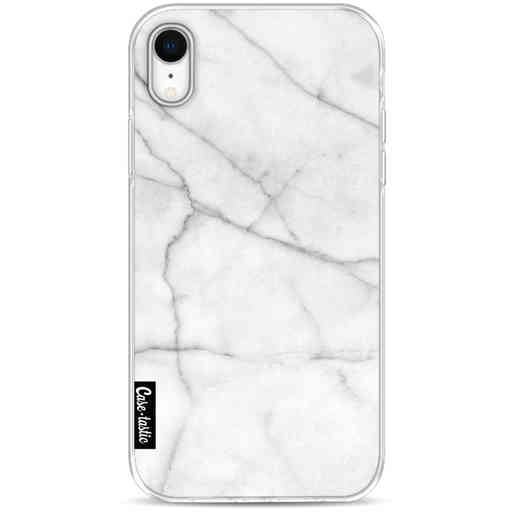 Casetastic Softcover Apple iPhone XR - White Marble