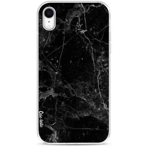 Casetastic Softcover Apple iPhone XR - Black Marble