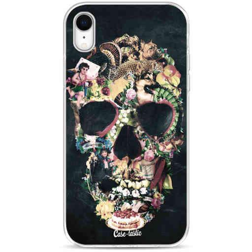 Casetastic Softcover Apple iPhone XR - Vintage Skull