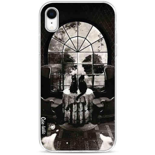 Casetastic Softcover Apple iPhone XR - Room Skull BW