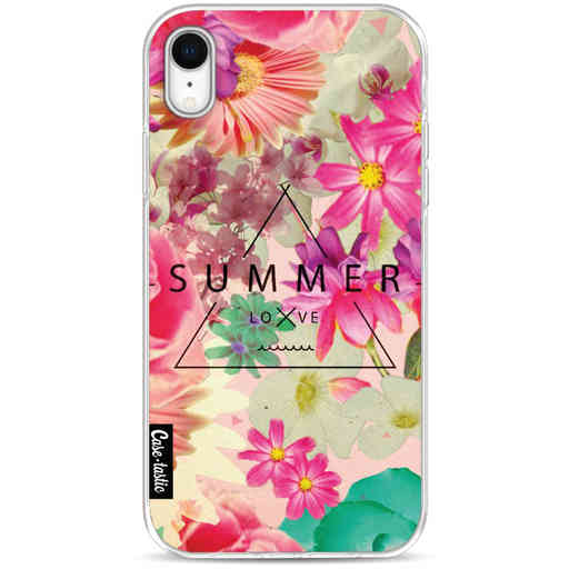 Casetastic Softcover Apple iPhone XR - Summer Love Flowers