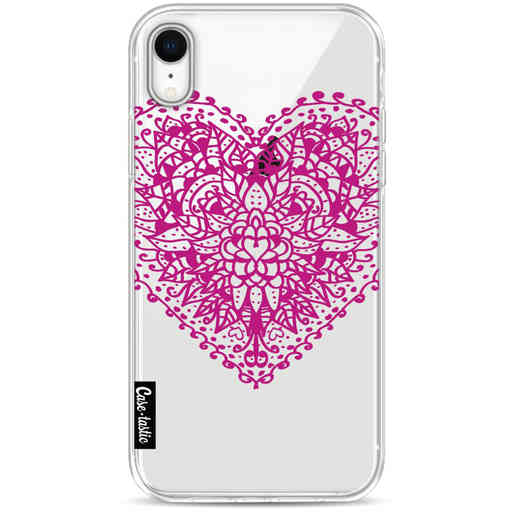 Casetastic Softcover Apple iPhone XR - Doodle Heart