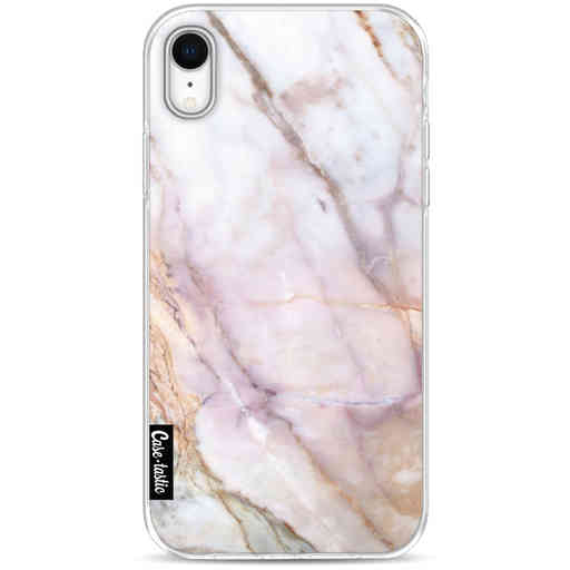 Casetastic Softcover Apple iPhone XR - Pink Marble