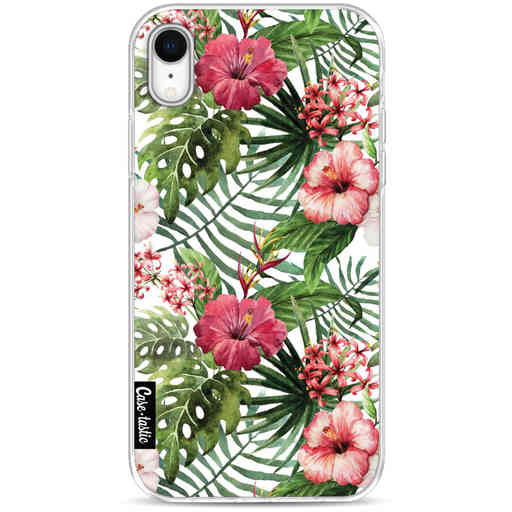 Casetastic Softcover Apple iPhone XR - Tropical Flowers
