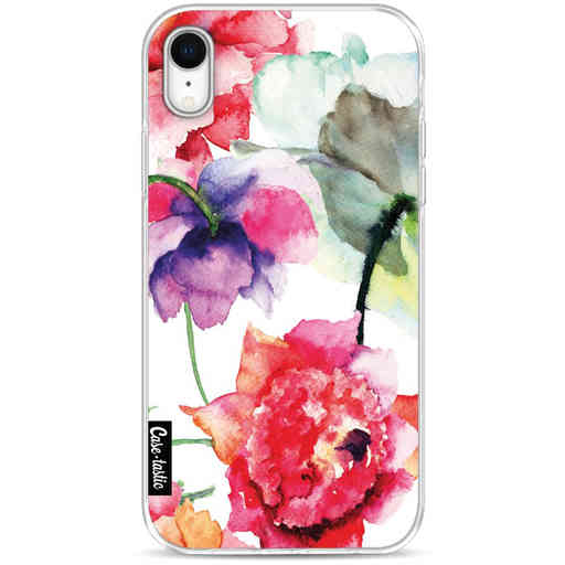 Casetastic Softcover Apple iPhone XR - Watercolor Flowers