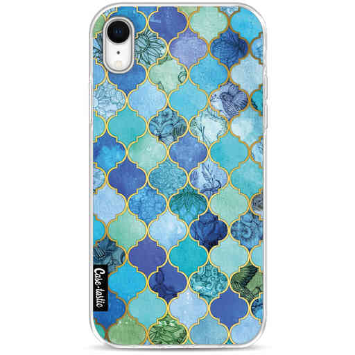 Casetastic Softcover Apple iPhone XR - Aqua Moroccan Tiles