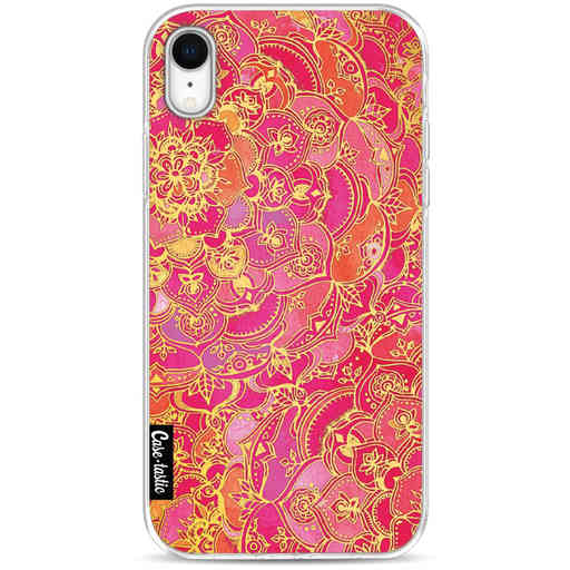 Casetastic Softcover Apple iPhone XR - Hot Pink Barroque