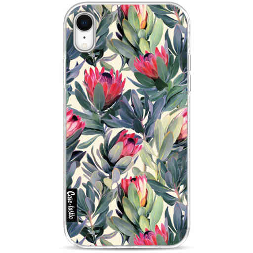 Casetastic Softcover Apple iPhone XR - Painted Protea