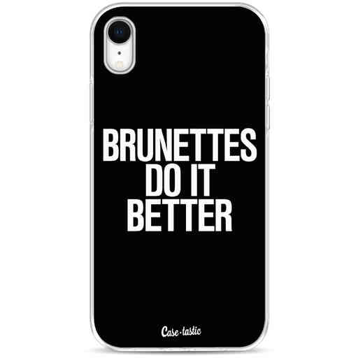 Casetastic Softcover Apple iPhone XR - Brunettes Do It Better
