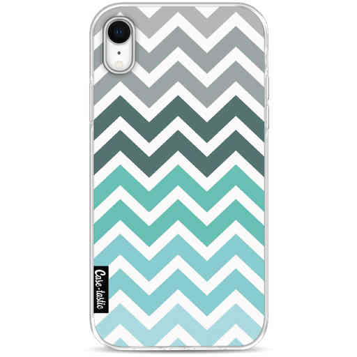 Casetastic Softcover Apple iPhone XR - Tiffany Fade Chevron
