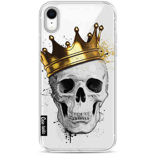 Casetastic Softcover Apple iPhone XR - Royal Skull
