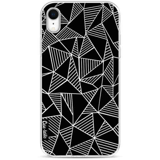 Casetastic Softcover Apple iPhone XR - Abstraction Lines Black