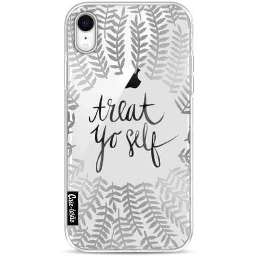 Casetastic Softcover Apple iPhone XR - Treat Yoself Silver