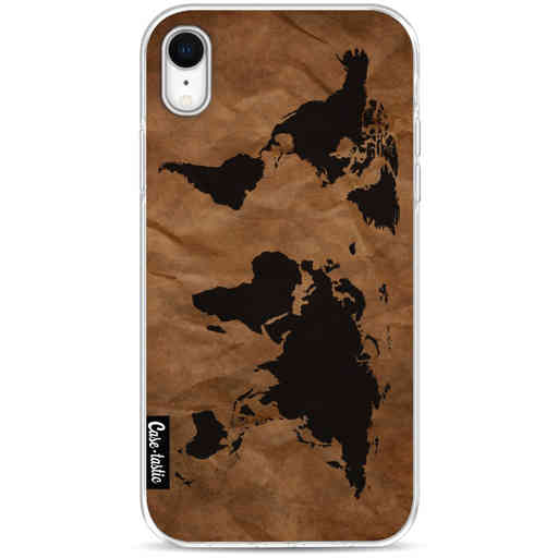 Casetastic Softcover Apple iPhone XR - World Map