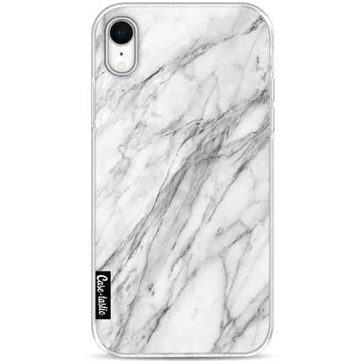 Casetastic Softcover Apple iPhone XR - Marble Contrast