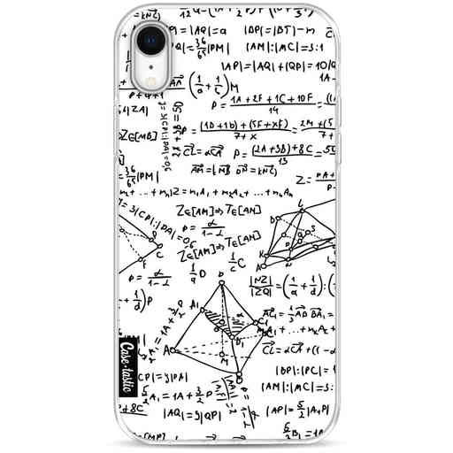 Casetastic Softcover Apple iPhone XR - You Do The Math White