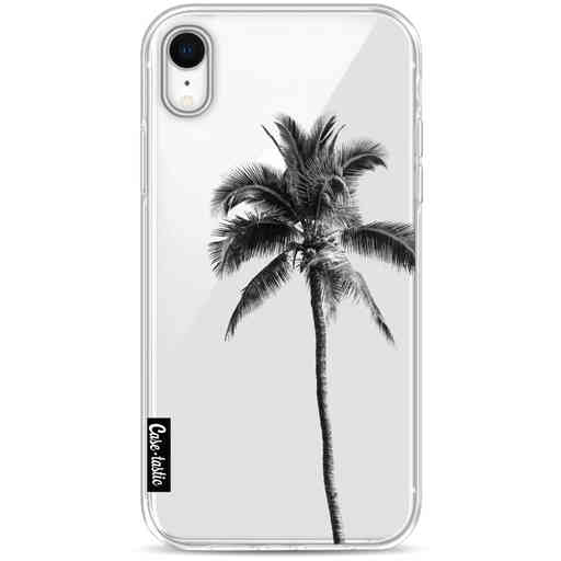 Casetastic Softcover Apple iPhone XR - Palm Tree Transparent