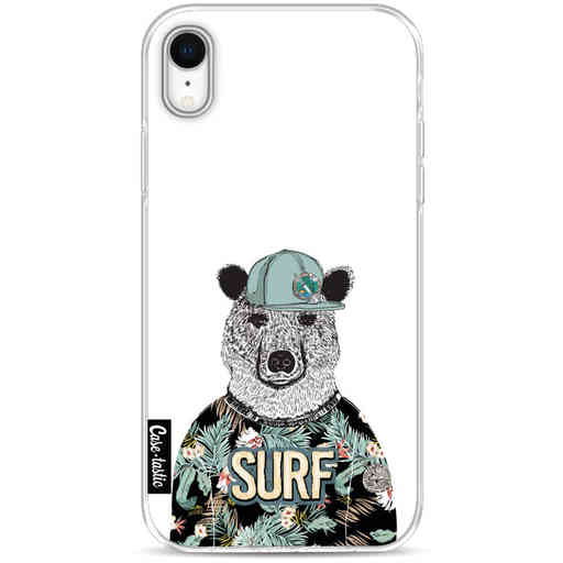 Casetastic Softcover Apple iPhone XR - Surf Bear
