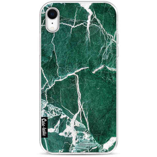 Casetastic Softcover Apple iPhone XR - Dark Green Marble