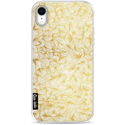 Casetastic Softcover Apple iPhone XR - Abstract Pattern Gold
