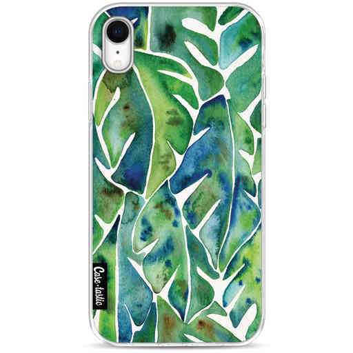 Casetastic Softcover Apple iPhone XR - Green Philodendron