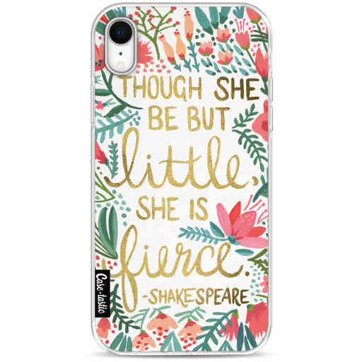 Casetastic Softcover Apple iPhone XR - Little Fierce White