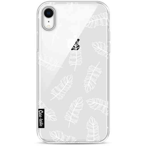Casetastic Softcover Apple iPhone XR - Feathers Outline