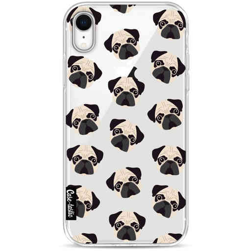 Casetastic Softcover Apple iPhone XR - Pug Trouble
