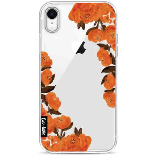 Casetastic Softcover Apple iPhone XR - Orange Autumn Flowers