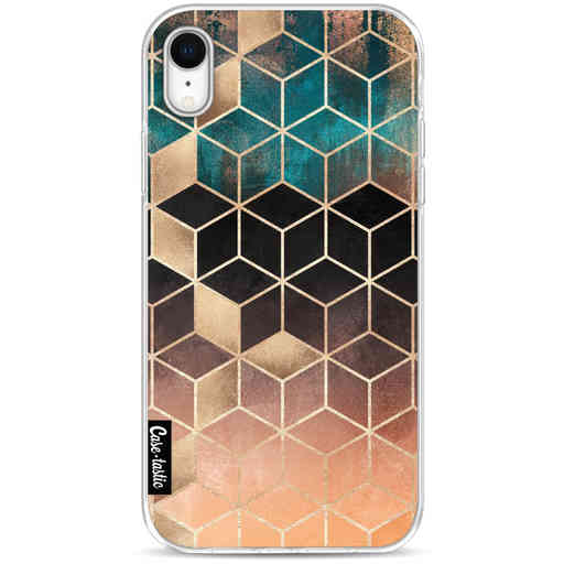 Casetastic Softcover Apple iPhone XR - Ombre Dream Cubes
