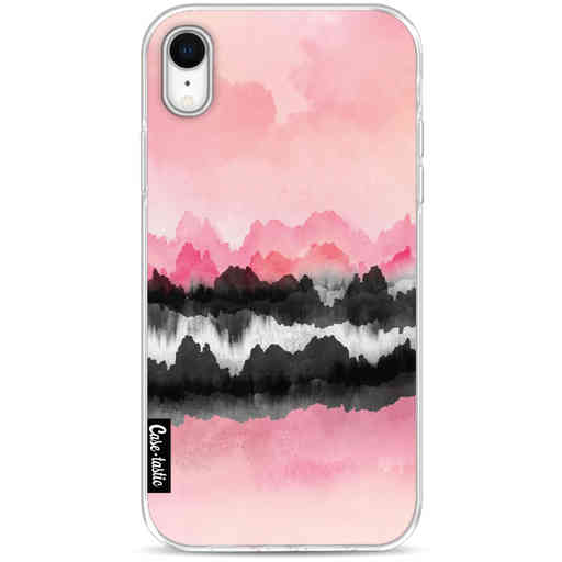 Casetastic Softcover Apple iPhone XR - Pink Mountains