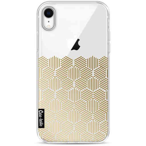 Casetastic Softcover Apple iPhone XR - Golden Hexagons