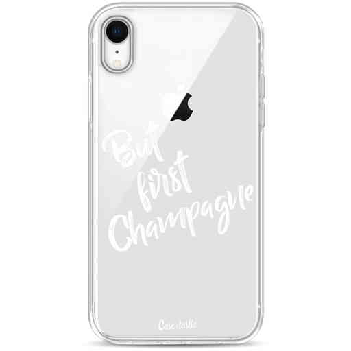 Casetastic Softcover Apple iPhone XR - But First Champagne