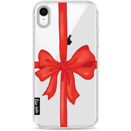 Casetastic Softcover Apple iPhone XR - Christmas Ribbon